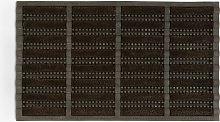John Lewis & Partners Rubber and Coir Door Mat,