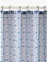 John Lewis & Partners Scallop Shell Slub Shower