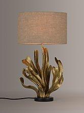John Lewis & Partners Seaweed Table Lamp, Gold