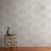 John Lewis & Partners Shimmering Trees Wallpaper,