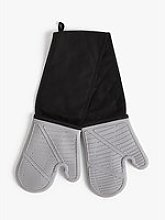 John Lewis & Partners Silicone Double Oven Glove,