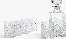 John Lewis & Partners Sirius Crystal Glass Whisky