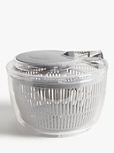 John Lewis & Partners Small Salad Spinner, Grey