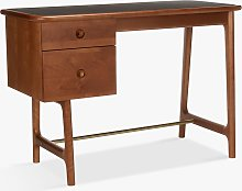 John Lewis & Partners Soren Narrow Desk, Walnut