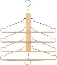John Lewis & Partners Space Saving Wooden Hanger