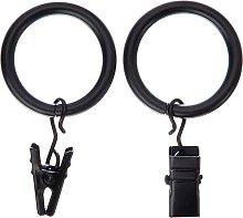 John Lewis & Partners Speedy Clip Curtain Rings,