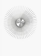 John Lewis & Partners Spindle Metal Analogue Wall