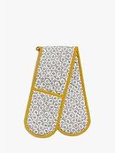 John Lewis & Partners Spot Double Oven Glove,