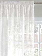 John Lewis & Partners Stitched Stripe Voile