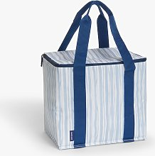 John Lewis & Partners Striped Picnic Cooler Bag,