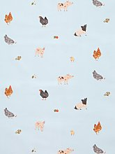 John Lewis & Partners Summer Farm PVC Tablecloth