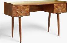 John Lewis & Partners + Swoon Franklin Desk, Brown