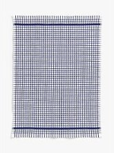 John Lewis & Partners Terry Cotton Check Tea Towel