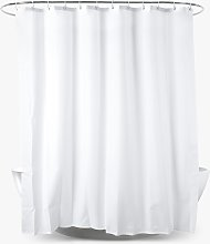 John Lewis & Partners Textured Slub Shower Curtain