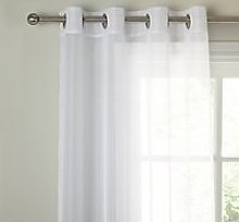 John Lewis & Partners The Basics Voile Eyelet