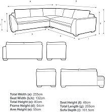 John Lewis & Partners Tortona 5+ Seater Corner Sofa