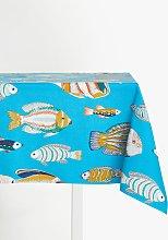 John Lewis & Partners Tropical Fish PVC Tablecloth