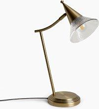 John Lewis & Partners Trumpet Touch Desk Lamp,