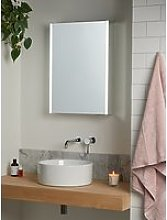 John Lewis & Partners Vertical Single Mirrored and