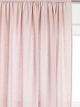 John Lewis & Partners Washed Linen Slot Top Voile