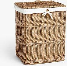 John Lewis & Partners Wicker Laundry Basket