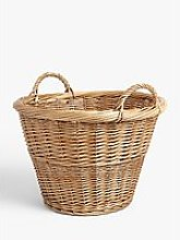 John Lewis & Partners Willow Storage Basket with