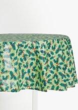 John Lewis & Partners Wipe Clean PVC Holly Print