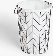 John Lewis & Partners Wire Laundry Basket