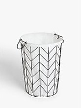 John Lewis & Partners Wire Laundry Basket
