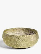 John Lewis & Partners Wire Round Bread Basket,