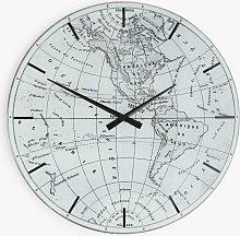 John Lewis & Partners World Map Mirror Analogue