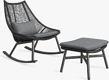 John Lewis & Partners Woven Garden Rocker Chair &