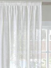 John Lewis & Partners Woven Stripe Voile Fabric,