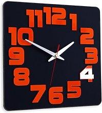 Johnie 30cm Silent Wall Clock Metro Lane Colour: