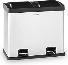 Johnny Stainless Steel 48 Litre Step On Recycling