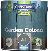 Johnstone's Garden Colours Paint 2.5L - Steel