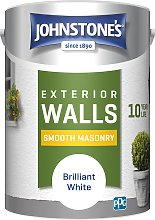 Johnstone's Masonry Paint 5L - White