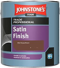 Johnstone's Satin Finish - Bird House Brown -