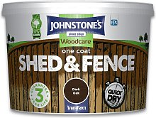 Johnstone's Shed & Fence Paint 9 Litre - Dark