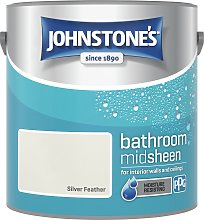 Johnstones Silver Feather Bathroom Emulsion Paint