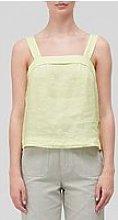 Joie Ami Linen Top - Green
