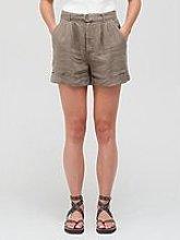 Joie Dixon Khaki Belted Shorts - Green