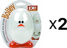 Joie MSC Boiley Plastic and Aluminum Microwave Egg