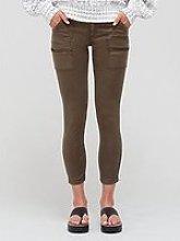 Joie Paris Zip Detail Skinny Trousers - Green