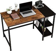 JOISCOPE Computer Desk, Desk with Shelves, Laptop