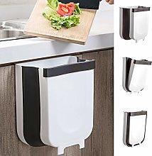 jojobnj Kitchen bin trash can Foldable, 9L Kitchen