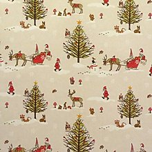 Jolee Fabrics Christmas Tablecloth - Wipe Clean