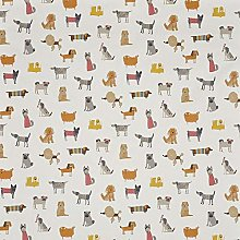 Jolee Fabrics Dogs Themed Wipe Clean PVC Vinyl and