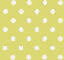 Jolee Fabrics Lime Green & White Polka Dot PVC