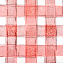 Jolee Fabrics Red Traditional Checked PVC Vinyl
